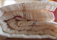 洗濯後のアリサラ舎ガーゼタオル